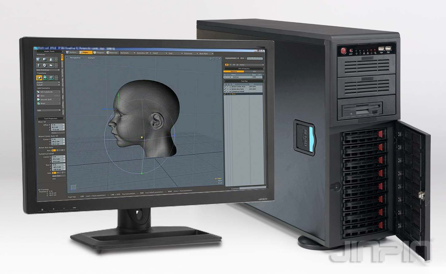 JINPIN KD 4208 graphic workstation